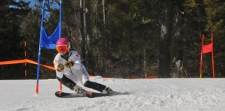Ski Racer at King PIne