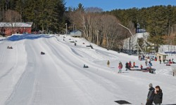 Snowtubing at King Pine Ski Area at Purity Spring Resort
