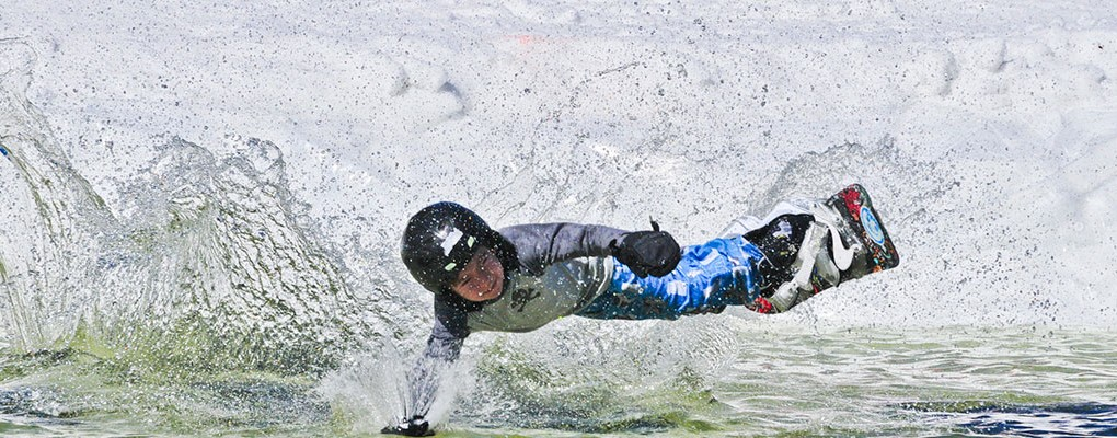 Pond Skim Event at King Pine