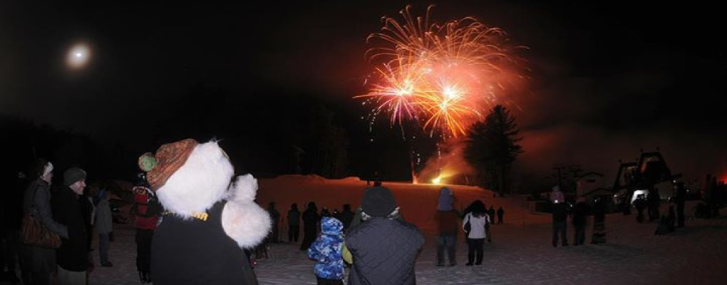 New Years Eve Fireworks at King Pine