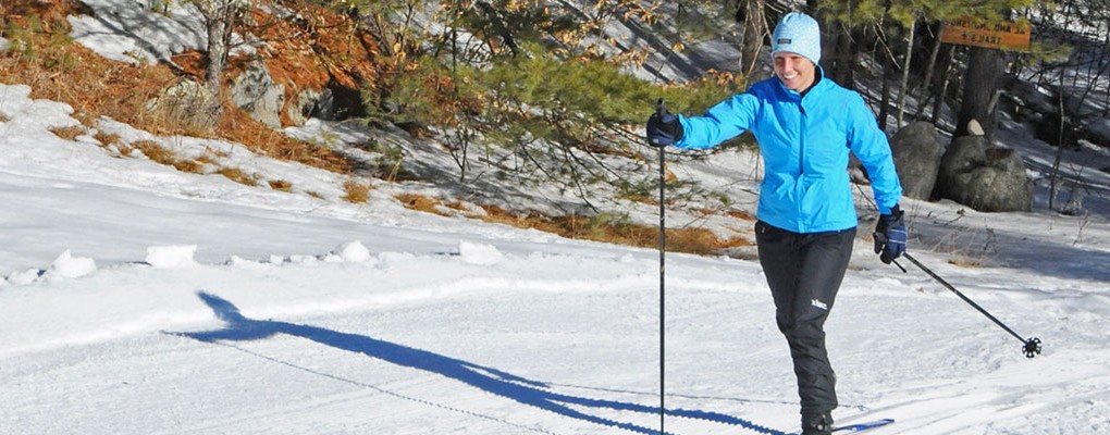 Nordic Skiing at Purity Spring XC & Snowshoe Reserve
