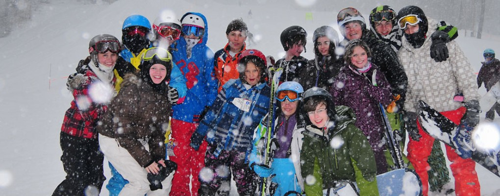 Ski and Snowboard Camp for Kids