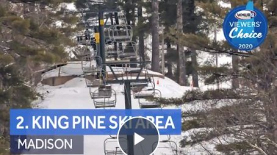 WMUR Best Ski Area Number Two Graphic